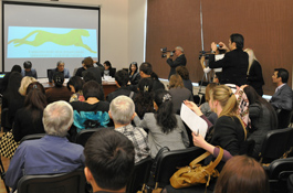 Пресс-конференция перед фестивалем «Золотой гепард»