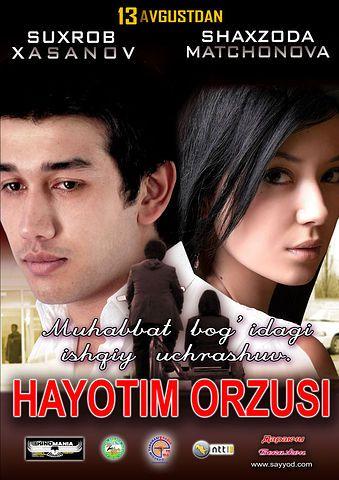 Постер фильма Hayotim orzusi