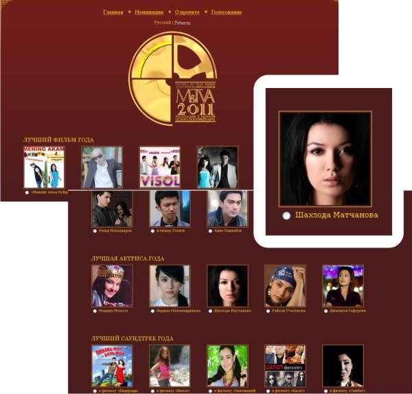Определились номинанты на премию M&TVA — 2011